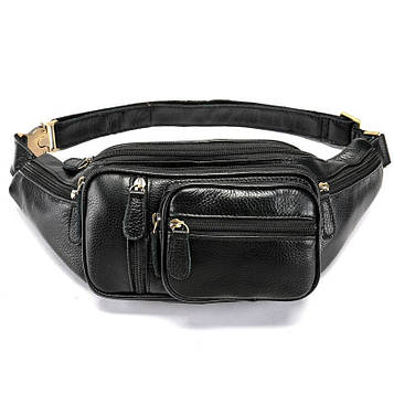 Напоясная сумка кожаная B10-8336 Joynee