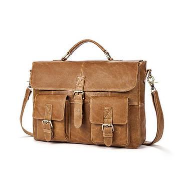 Шкіряний портфель для чоловіків B10-8927 Joynee
