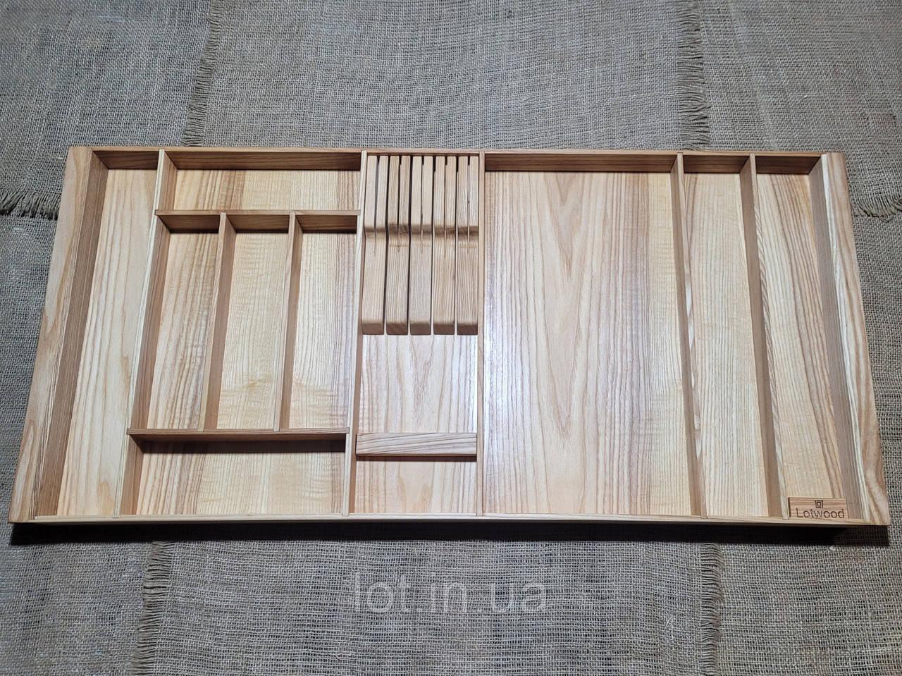Лоток для столовых приборов P920-1010.400 ясень