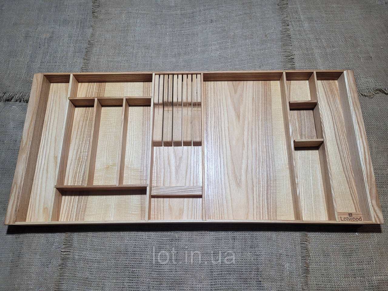 Лоток для столових приладів PM920-1010.400 ясен