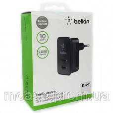 Universal Belkin Home Charger 2 Port Dual USB Power