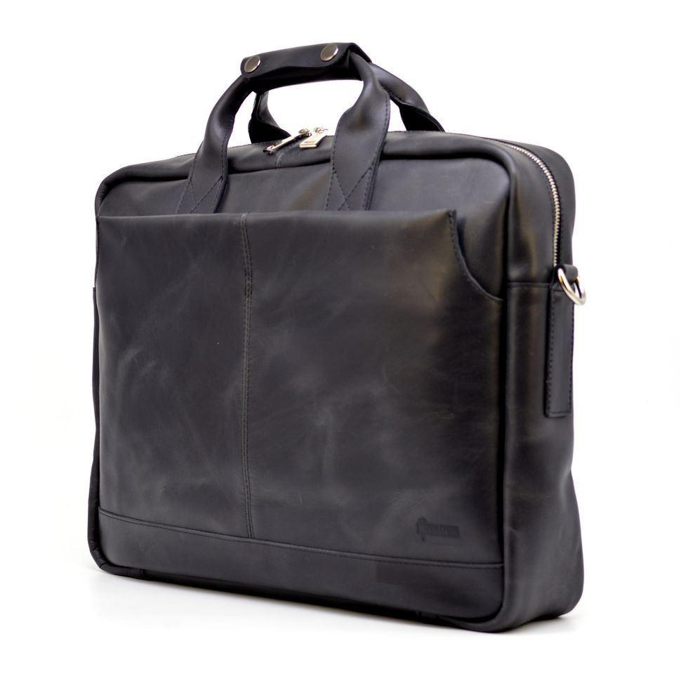 """Чоловіча сумка для ноутбука 17"""" з натуральної шкіри RA-1019-4lx від TARWA"""