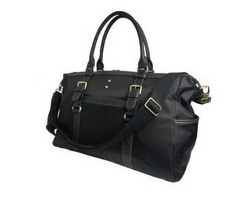 Компактная мужская тканевая дорожная сумка 130707BL Doogacci