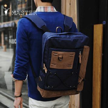 Стильный тканевый рюкзак для мужчин YBP-002bu Y-Master
