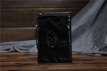 Чоловічий м'який гаманець bx8804, чорний бренд Bexhill