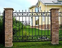 Качественный и стильный кованый забор под заказ в Херсоне