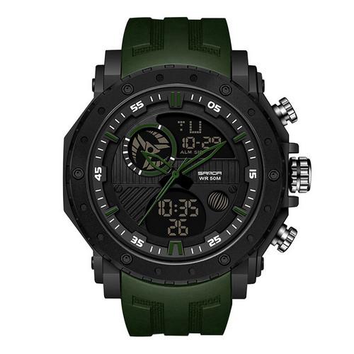 Sanda 6012 Green-Black