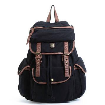 Рюкзак из ткани Canvas ID005 фирмы BUG черный