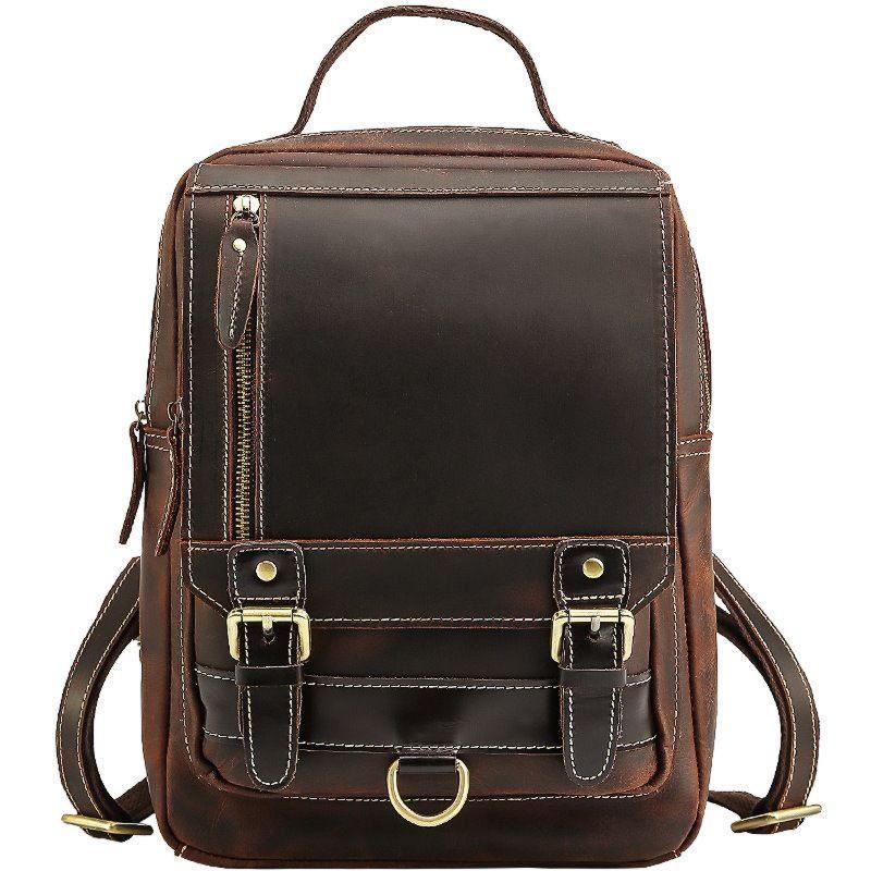 Кожаный рюкзак с трансформирующими ремешками Tid5111FS Tiding