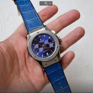 Hublot Classic Fusion Chronograph 5828 Blue-Silver