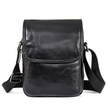 Компактная сумка из натуральной кожи John McDee 1031A