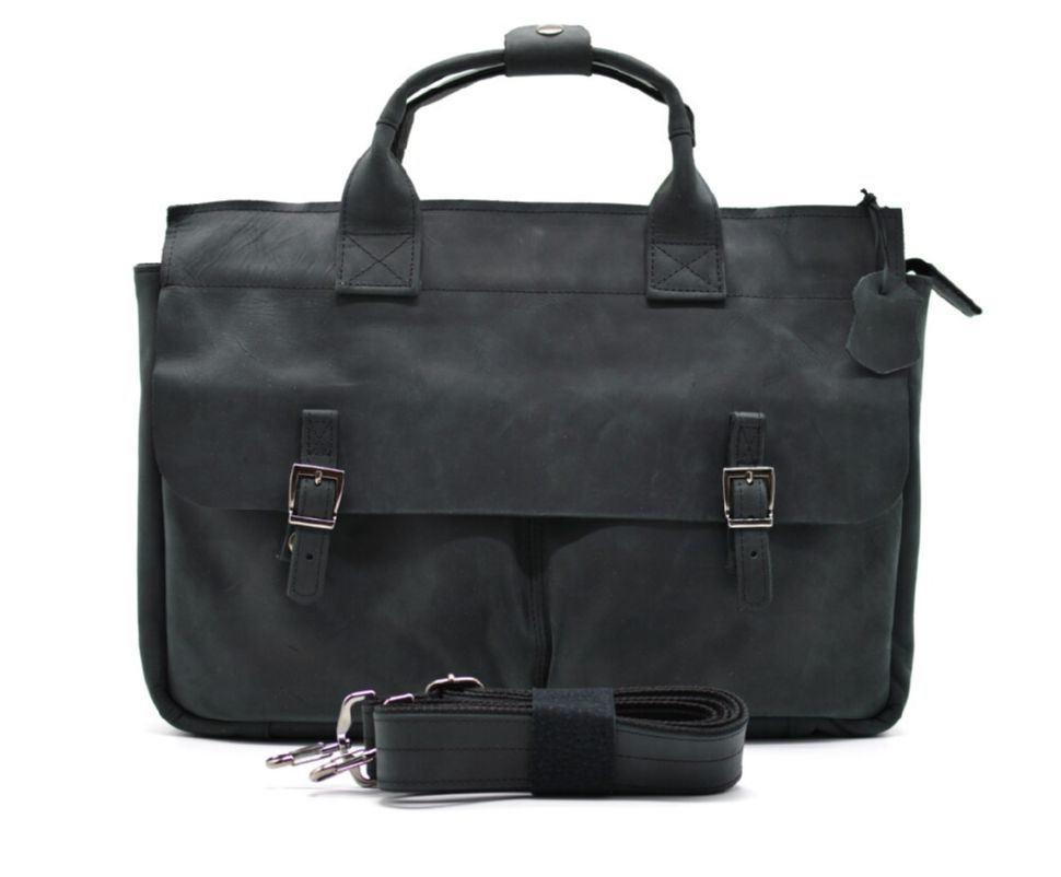 Чоловіча сумка для ноутубка і документів TARWA RA-7107-2md, crazy horse