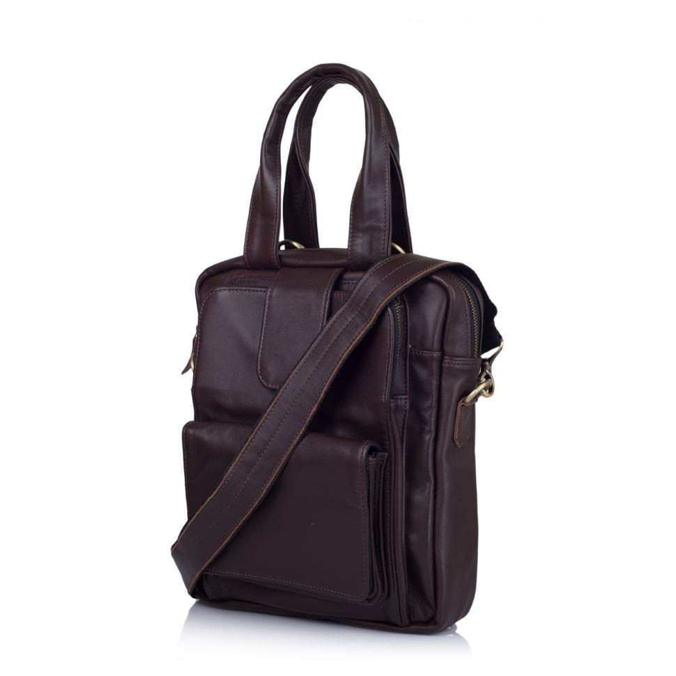 Кожаная мужская сумка трансформер GC-7266-2md TARWA