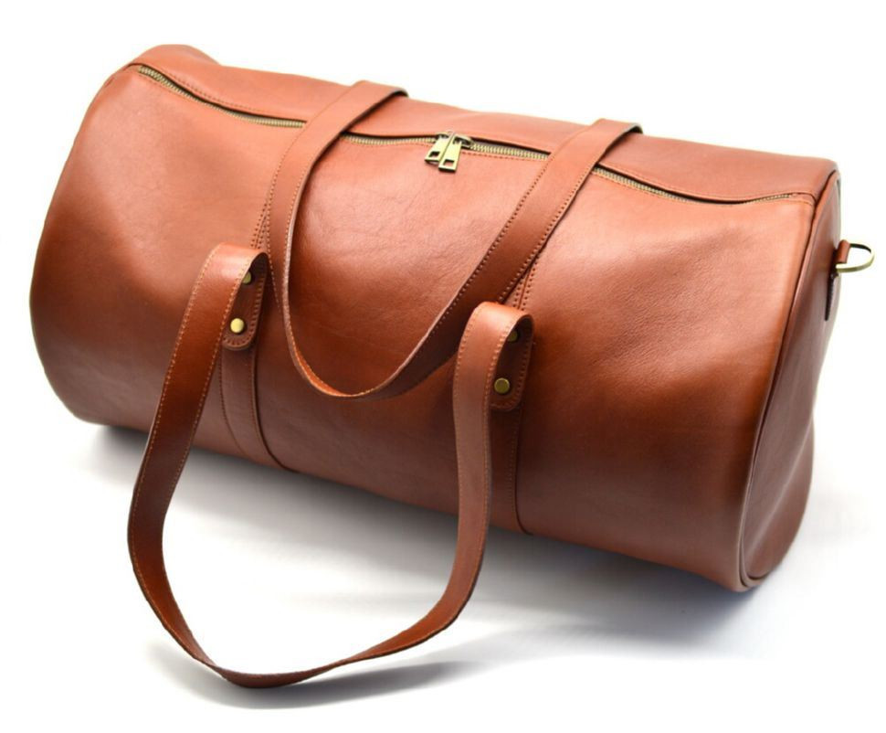 Дорожня сумка-бочонок з натуральної шкіри TB-5564-4lx TARWA