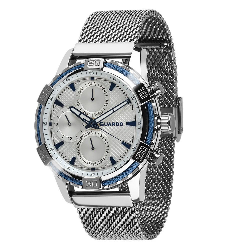 Guardo B01352(2)-2 Silver-Blue-White