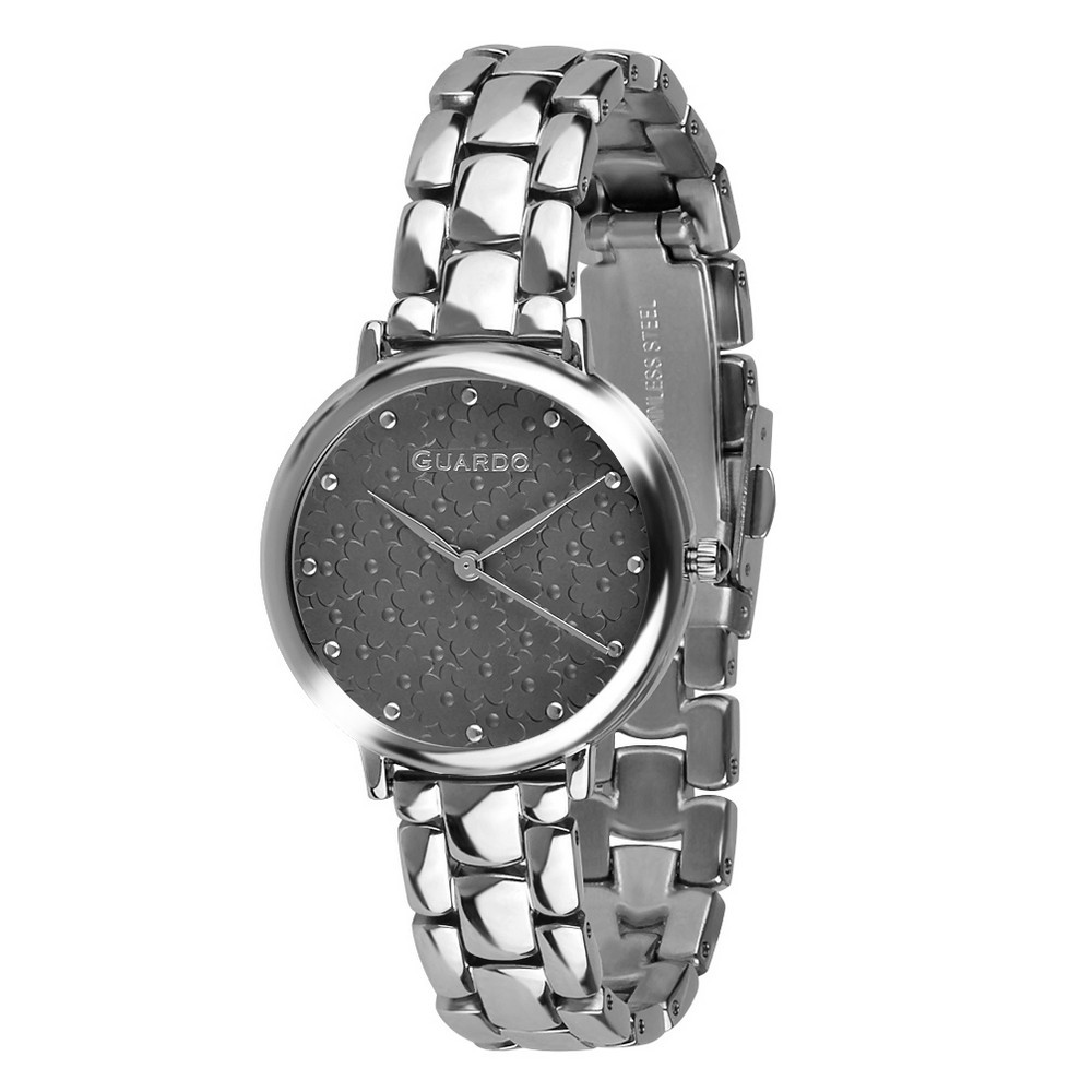 Guardo 012503-1 Silver-Black