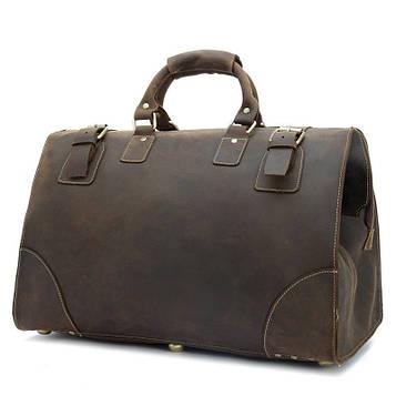 Винтажная сумка саквояж Crazy Horse Bexhill bx3151