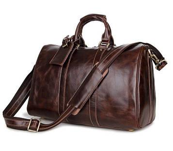 Дорожня шкіряна сумка John McDee 7077C