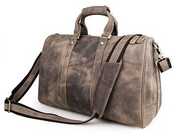 Дорожня шкіряна сумка John McDee 7077J