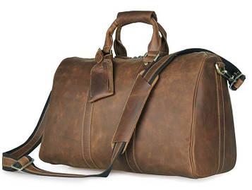 Дорожня шкіряна сумка John McDee 7077B