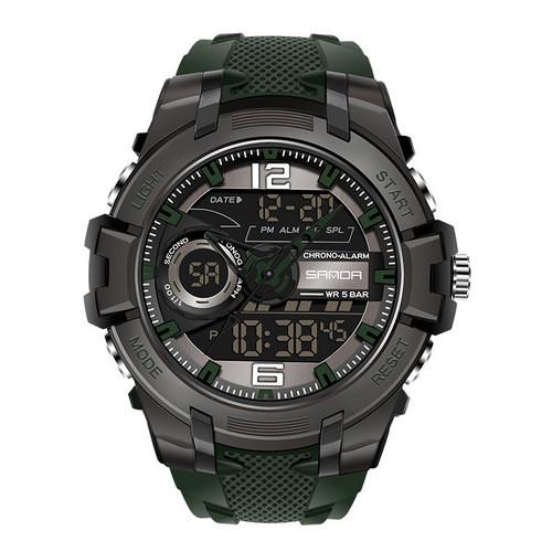 Sanda 6015 Green-Black