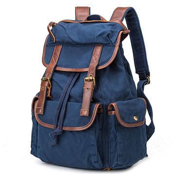 Рюкзак из ткани Canvas ID005 фирмы BUG синий