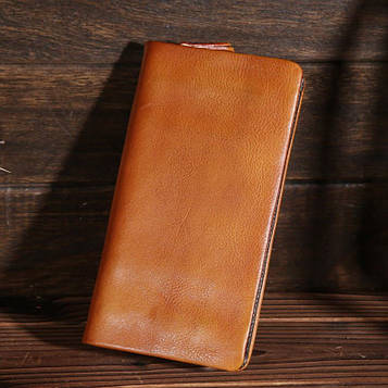 Стильне чоловіче портмоне, колір коричневий, Bexhill bx1129bl (Burgundy – бордовий)