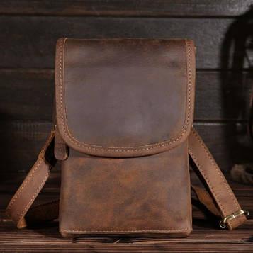 Оригінальний чоловічий аксесуар, колір коричневий, Bexhill bx2093-ls