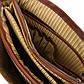 Портфель мужской кожаный ALESSANDRIA, Tuscany TL141448 (Honey – медовый), фото 6