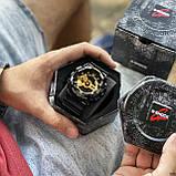 Casio GA-110GB-1AE Black-Gold, фото 7