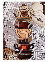 """Схема для вышивки бисером """"Кофе"""", чашки"""