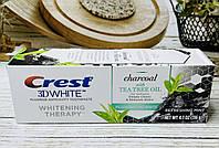Отбеливающая зубная паста уголь с маслом чайного дерева Crest 3D White, фото 1