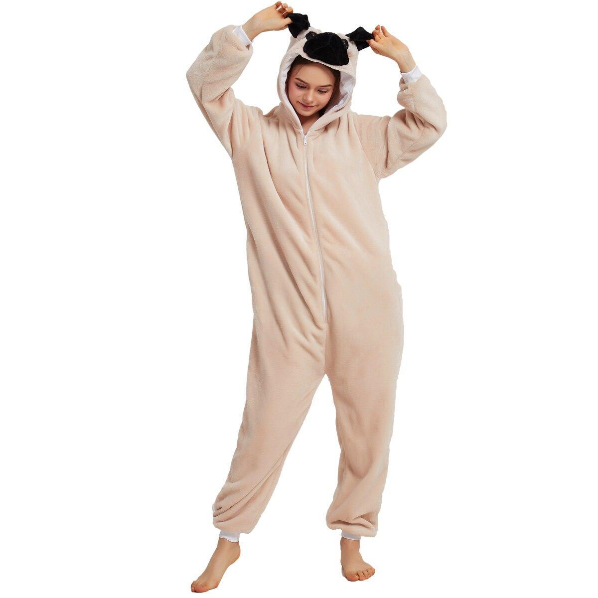 Кигуруми шарпей взрослый пижама krd0155