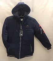Куртка мужская зимняя V&N норма размеры 48-56,темно синего цвета