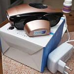 Фотоэпилятор для дома с LED дисплеем. MEDSET PiPi-FD1 розовый 600000 вспышек IPL, фото 5