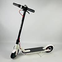 Потужний електросамокат Kugoo M365 Pro Білий | Складаний двоколісний електричний самокат Куго для дорослих