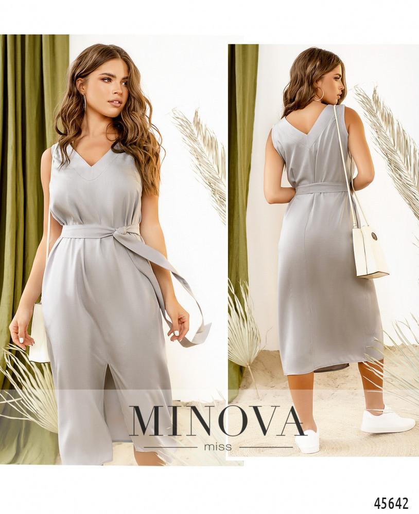 Платье №2291-серый серый/42-44