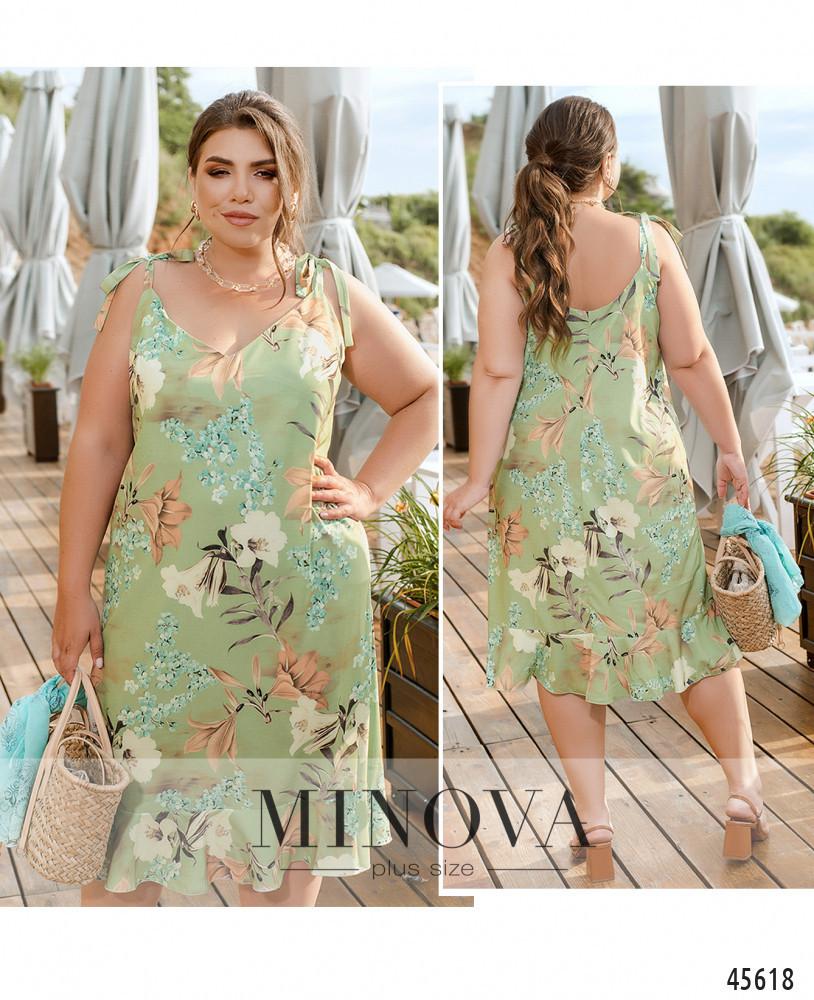 Платье №2290-мята мята/46-48