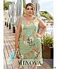 Платье №2290-мята мята/46-48, фото 2