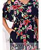Платье №2282-яркие-цветы яркие-цветы/50-52, фото 4