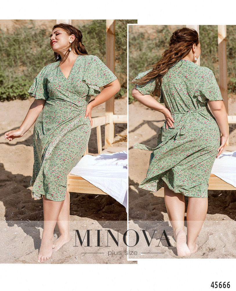Сукня №1041-1-оливка оливка/46-48