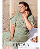 Сукня №1041-1-оливка оливка/46-48, фото 2