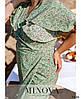 Сукня №1041-1-оливка оливка/46-48, фото 4