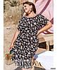 Платье №1047-черный черный/52-54, фото 2