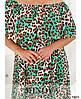 Платье №301-Зелёный Зелёный/50-52, фото 4