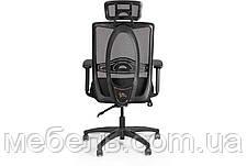 Комп'ютерне крісло Barsky Black Synchro Arm 1D_PU PA_desinge, фото 3