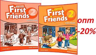 Английский язык / First Friends 2nd edition / Class+Activity Book. Учебник+Тетрадь (комплект), 2 / Oxford