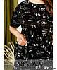 Платье №1085-чёрный чёрный/Универсальный(42-44-46), фото 4