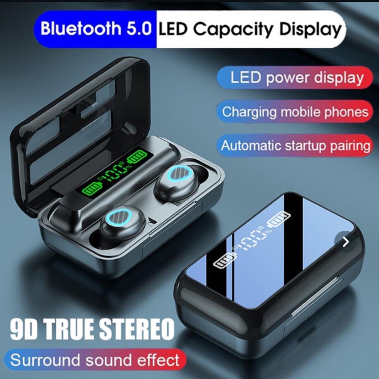 Бездротові навушники R15 сенсорні Power Bank HD Stereo Bluetooth навушники