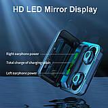 Бездротові навушники R15 сенсорні Power Bank HD Stereo Bluetooth навушники, фото 5